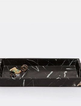 RHODES - Medium Tray - Nero Marble