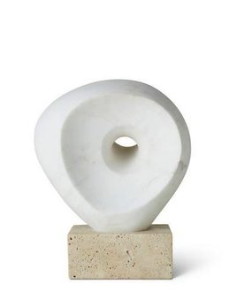 Aerin AERIN - Margot Objet - Sculpture in Marble - 9x19x24cm