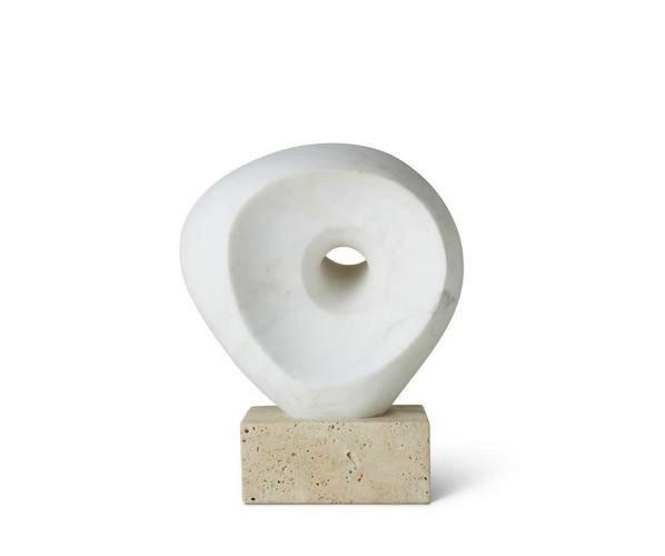 Aerin AERIN - Margot Objet - Sculpture in Marble - 9x19x24cm