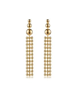 Sarina Suriano Sarina Suriano - Ad  Astra Earrings - Brass with 18k Gold Ion Plating  - Nickle Free
