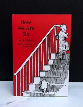 United Books Book - Now We Are Six 90th Anniversary Ed by Milne, A.A