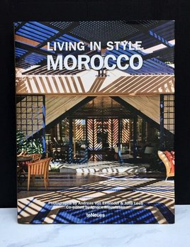Peribo Books Book - Living in Style Morocco by Andreas von Einsiedel