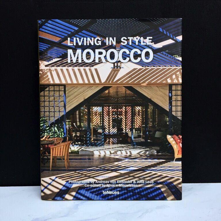 Peribo Books Book - Living in Style Morocco by Andreas von Einsiedel