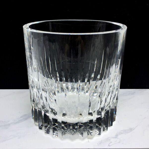 BECKER MINTY BECKER MINTY - Crystal Glass Champagne Bucket - Linear Cut - 19x19cm