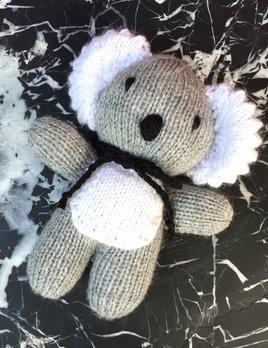 Generic Small - Hand knitted woollen Koala - 15cm - Tasmania