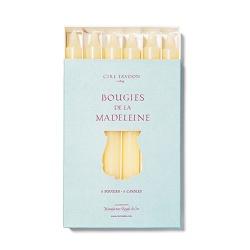 Cire Trudon Cire Trudon Madeleine Taper Candles - Boxed set of 6 - Stone - 20cm