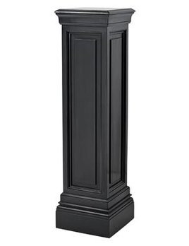 eichholtz overseas decoration b.v. Tall Plinth - Column - Waxed Black - H120x33x33cm