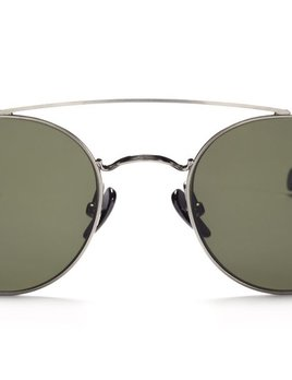 TSG Distribution Ahlem Eyewear - Bastille - White Gold - Palladium Frames Dipped in 3 Microns of Gold