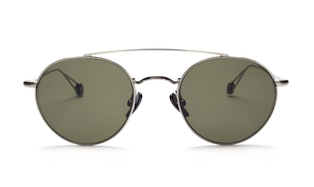 TSG Distribution Ahlem Eyewear - Bastille - White Gold - Palladium Frames Dipped in 3 Microns of Gold