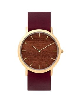 Analog Watch Co Analog Watch Co - Classic - Classic Watch with Makore Wood Dial