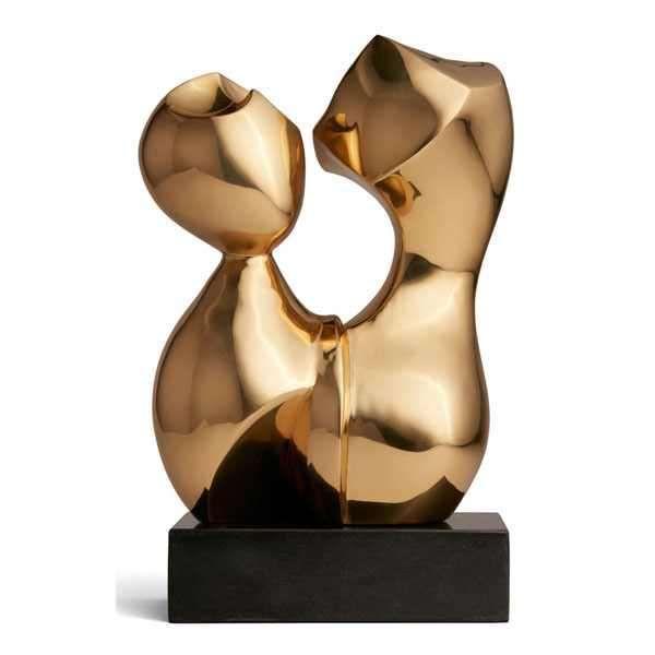 Aerin AERIN - Bregenz Sculpture - Brass - Limited Edition