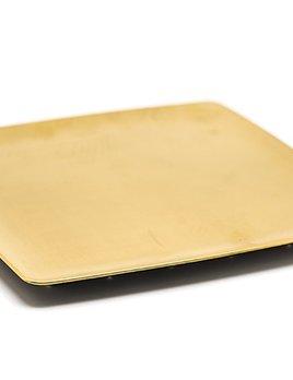 Shida Thojiki Square Porcelain Flat Plate - Japan