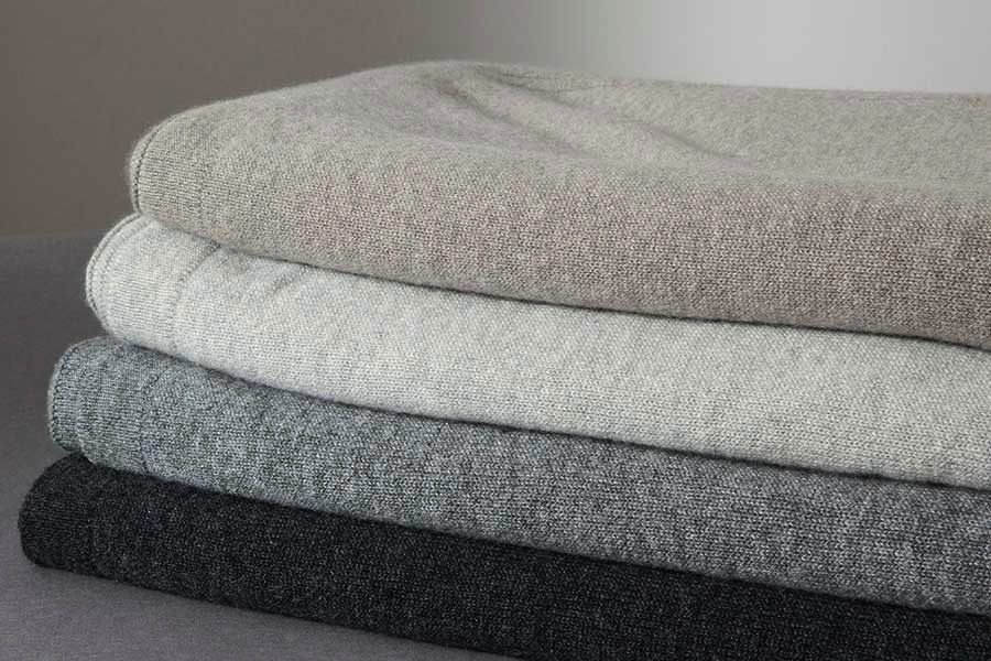 bemboka blankets Bemboka Pure Italian Cashmere Throw - Jersey