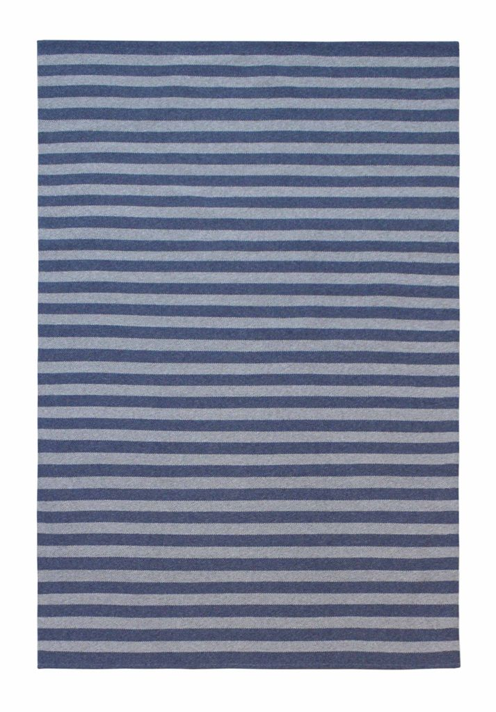 BECKER MINTY Colour Scope Handwoven Rug - Tonal Stripe  - These rugs are indoor/outdoor suitable, easy to clean and very resilient. Direct Sunlight/Wet Areas