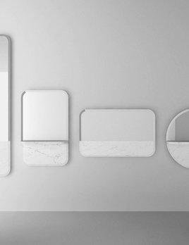 Retegui Marble Retegui Marble - Alaka Marble Mirror - Vertical