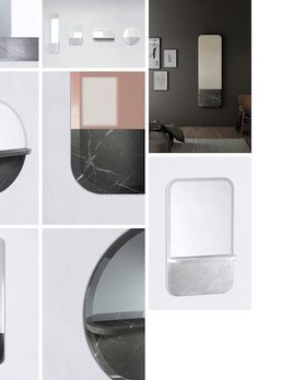 Retegui Marble Retegui Marble - Alaka Marble Mirror - Horizontal