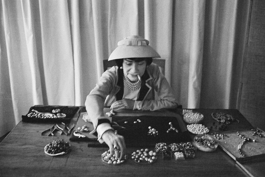 Mark Shaw Photography - Coco Chanel with Jewellery