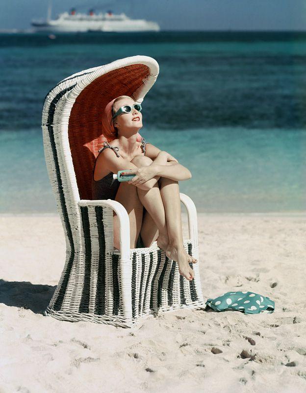 Mark Shaw Photography - Striped Beach Chair