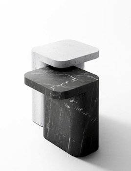Retegui Marble Retegui Marble - Petra Marble Side Table - various sizes and colours available