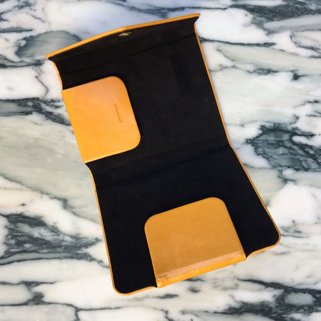 Keics Lunaride Passport Holder - Magnetic Clip