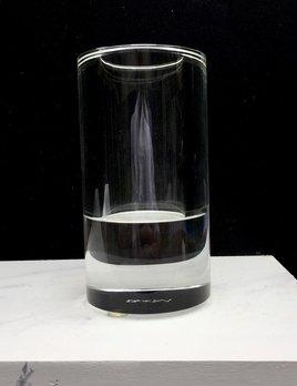 BECKER MINTY BECKER MINTY - Crystal Glass Cylinder Vase H15x8cm