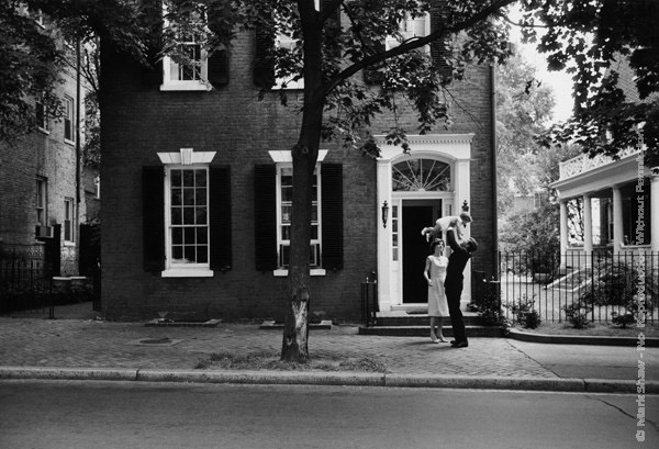 Mark Shaw Photography - Kennedys in Georgetown 1959