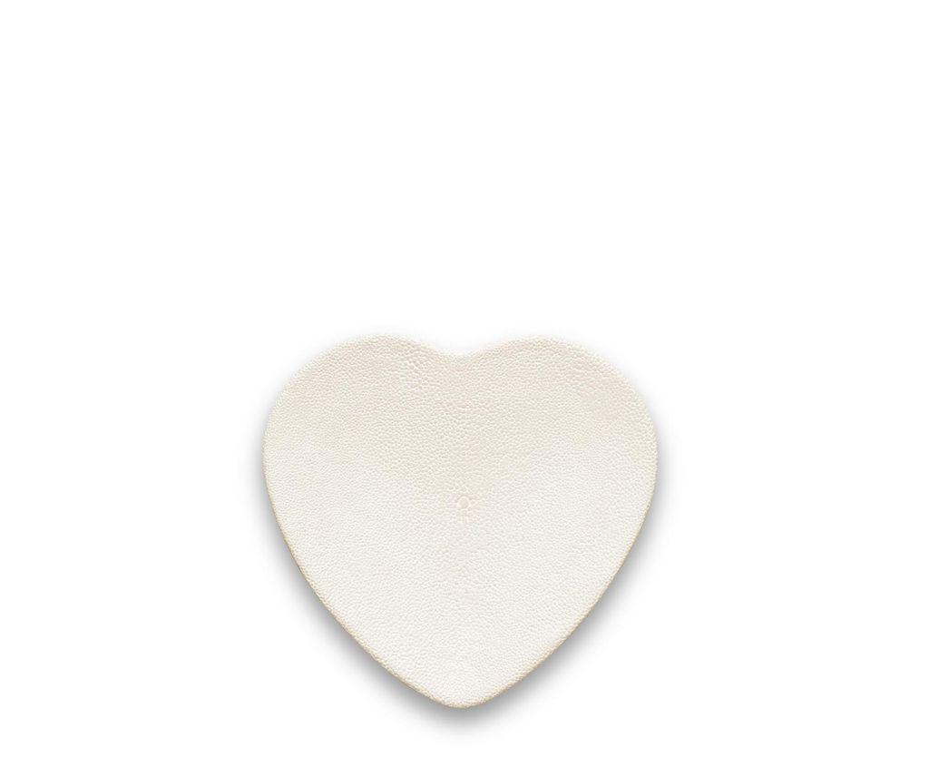 Aerin AERIN - Shagreen Heart Vide Poche