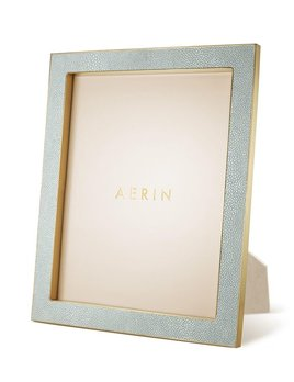Aerin AERIN - Classic Embossed - Shagreen Frame - Mist - 8x10""