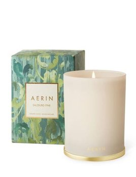 Aerin AERIN - Salzburg Pine Candle with Brass Lid