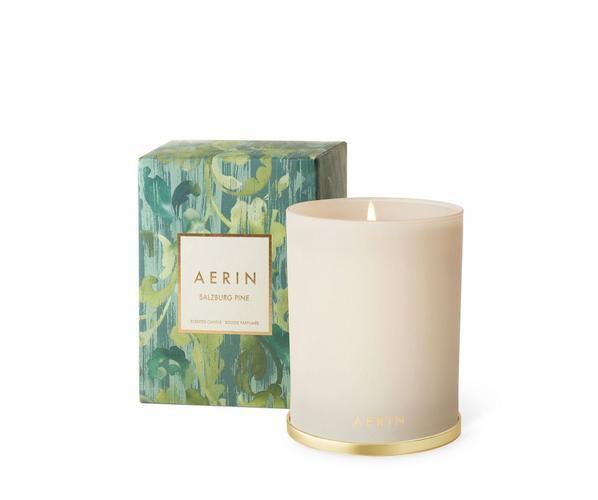 Aerin AERIN - Salzburg Pine Candle with Brass Lid