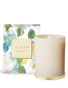 Aerin AERIN - Sintra Gardenia Candle with Brass Lid