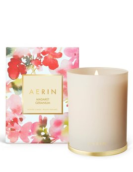 Aerin AERIN - Madaket Geranium Candle with Brass Lid