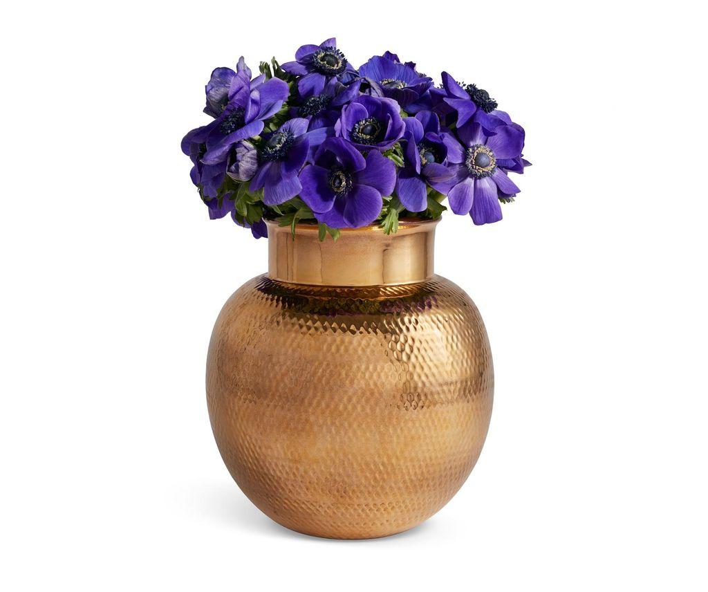 Aerin AERIN - Textured Gold Sphere Vase