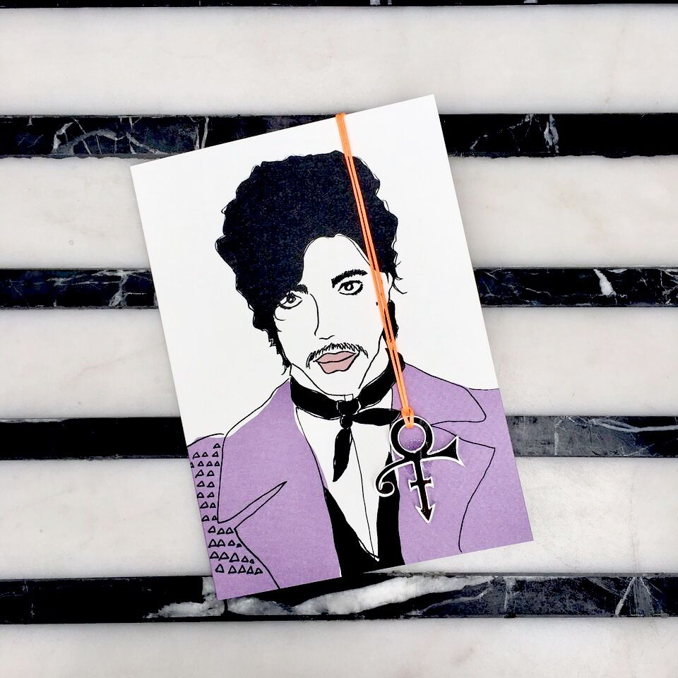 Butt PRINCE gift card with envelope