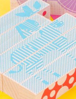 Les jouets Libres LJL Animal Blocks Puzzle - Eco