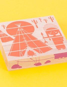 Les jouets Libres LJL Casa Blocks Puzzle - Eco