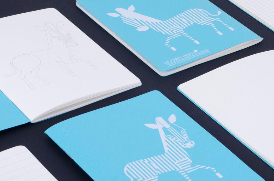 Les jouets Libres LJL Children's School Pack - Zebra - Eco