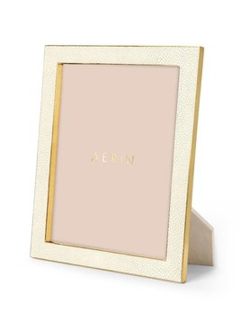 Aerin AERIN - Classic Embossed Shagreen Frame - Cream - 8x10""