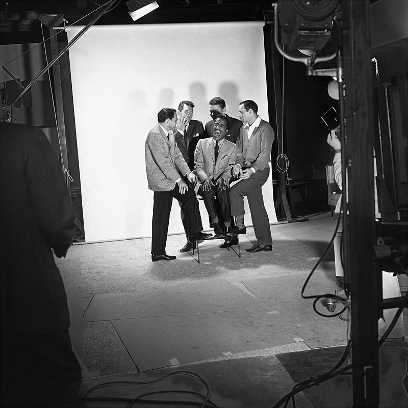 Sammy Davis Jr. with Frank Sinatra, Dean Martin, Peter Lawford and Joey Bishop - Sid Avery