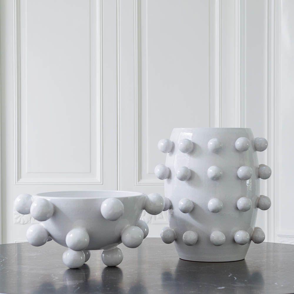 Kelly Wearstler Kelly Wearstler - Pop Bowl - White Ceramic - 41x23cm