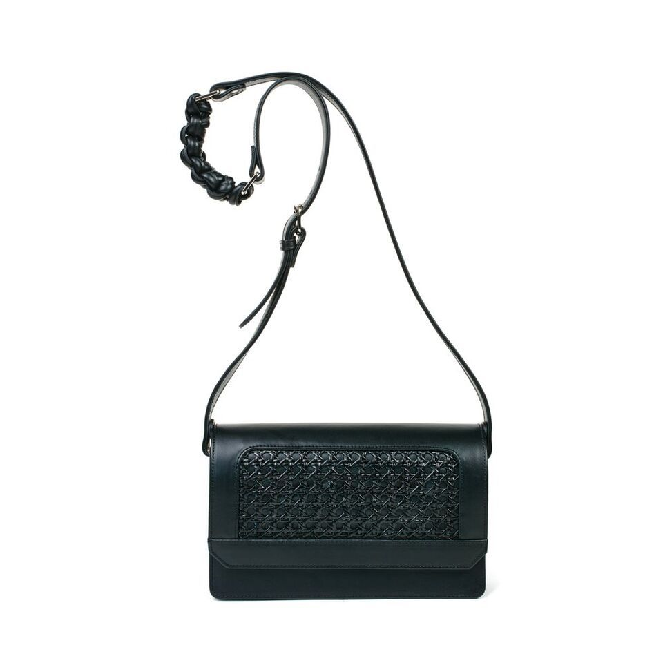 Sagan Sagan Vienna Cross Body Bag - Medium - Absolute Black