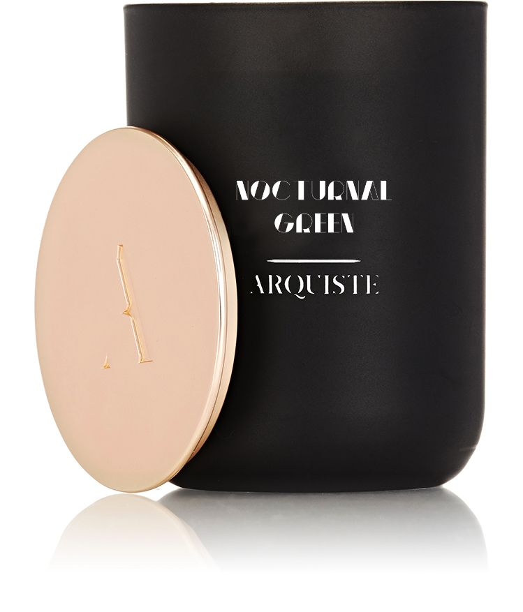 Arquiste Nocturnal Green Luxury Candle by ARQUISTE Parfumeur