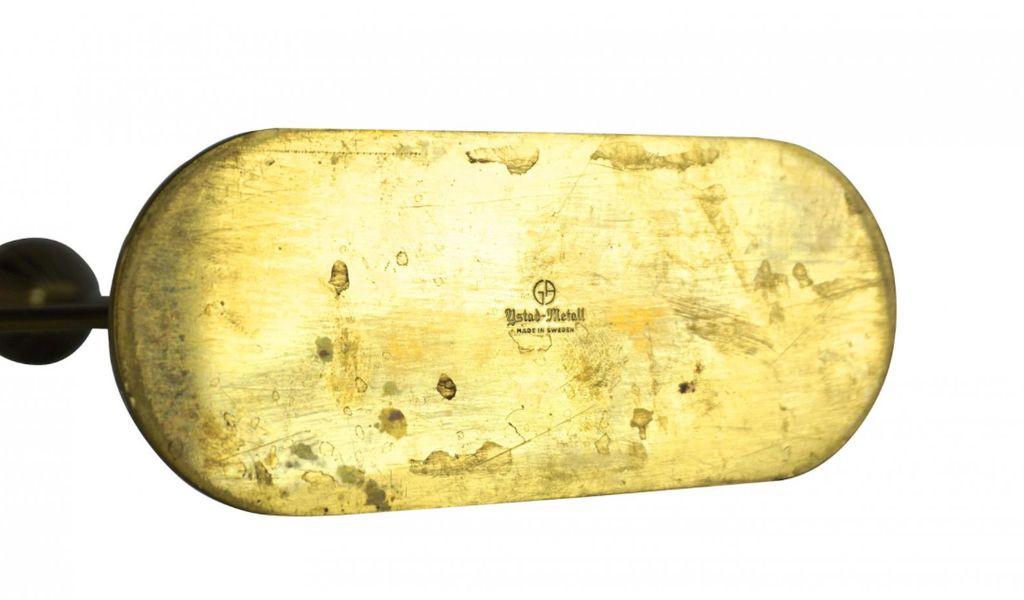 BECKER MINTY Vintage Brass Candelabra - Gunnar Ander for Ystad Metall - Sweden C1955