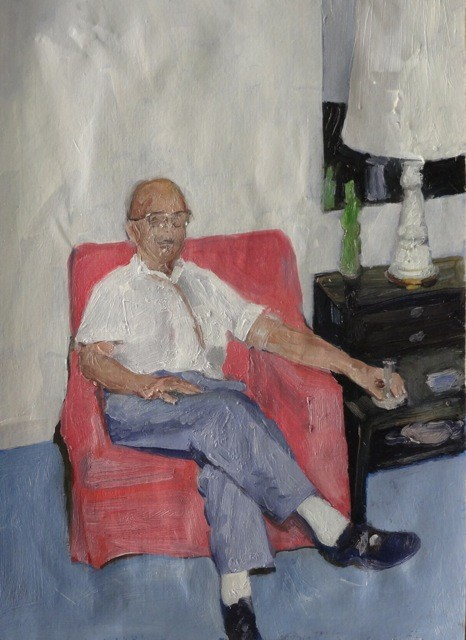 James King - Uncle John 2013 -  45x36cm