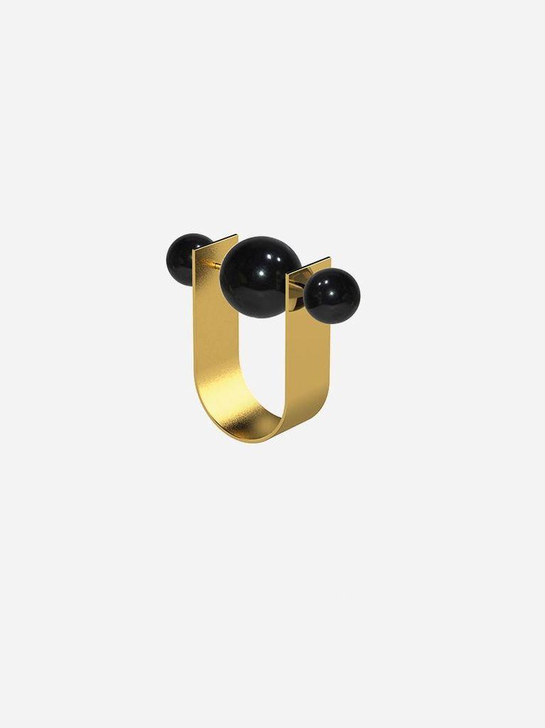 Ana Joao Ana Joao - Unexpected Ring with Onyx