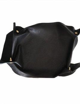 Lepaar Lepaar - 'Bolted Island' Hand - Sculpted Kangaroo Leather - Solid Brass - 600 x 320 x 50mm