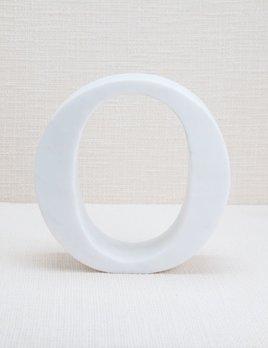 Kelly Wearstler Kelly Wearstler - Marble Letter O - White Calacatta Marble