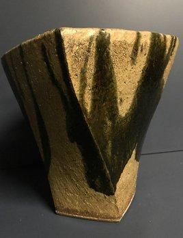 shapiro Ikebana Vase - Japanese Studio Pottery - c1960