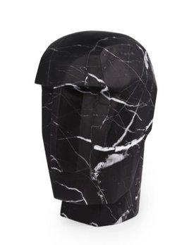 Kelly Wearstler Kelly Wearstler - Little Head Trip Sculpture - Negro Marquina Marble - 8x9x15cm