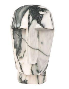 Kelly Wearstler Kelly Wearstler - Little Head Trip Sculpture - Big Flower Marble - 8x9x15cm